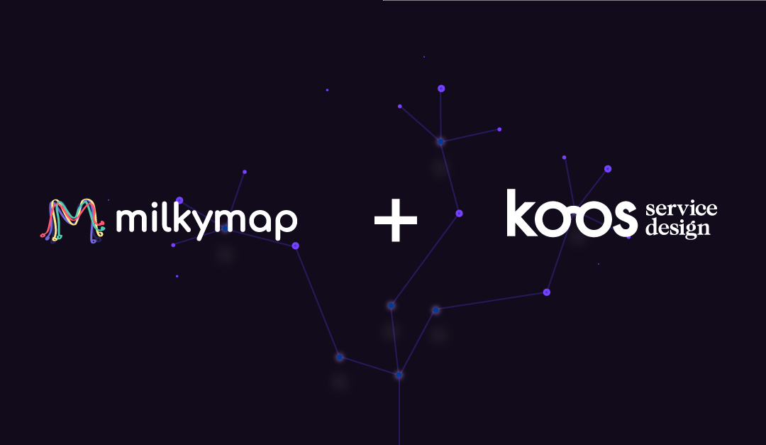 Milkymap en Koos Service Design join forces for superior Customer Experience